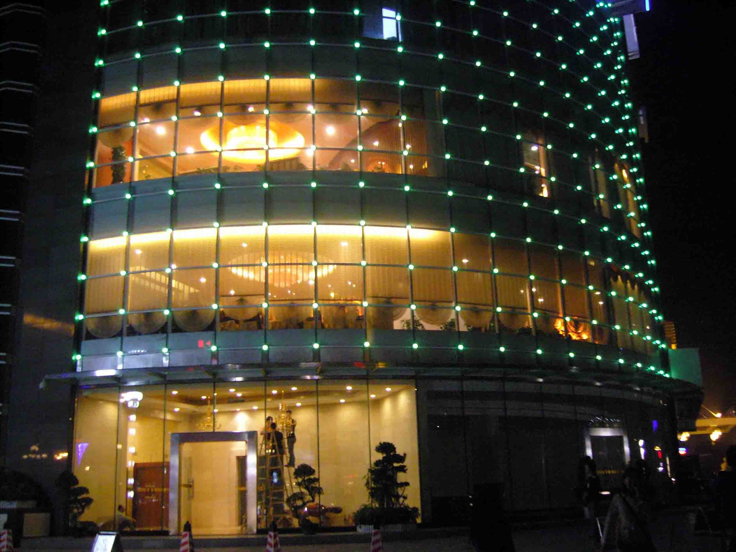 Shenzhen wanzhou optoelectronics co ltd for Building exterior lighting design
